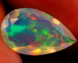 2.07 CT Extra Fine Quality Faceted Cut Ethiopian Opal -GF212
