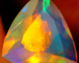 1.91 CT Extra Fine Quality Faceted Cut Ethiopian Opal -GF237
