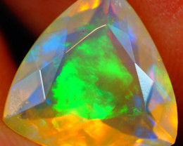 2.73CT 11X11MM Extra Fine Quality Faceted Cut Ethiopian Opal -GF250