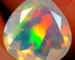 2.09 CT Extra Fine Quality Faceted Cut Ethiopian Opal -GF255