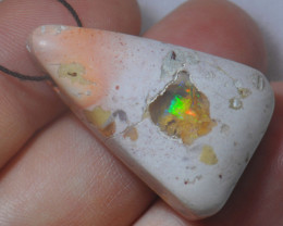 38.25ct  BEAD Mexican  Pendant Opal