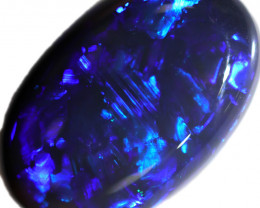 3.65 CTS BLACK OPAL STONE-FROM  LIGHTNING RIDGE - [LRO1116]
