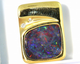 30.30 CTS BLACK OPAL PENDANT   OF-A140  LAZ