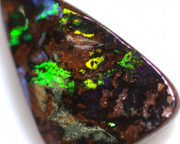 10.50 CTS BOULDER OPAL-WELL POLISHED -WINTON[BMA9532]