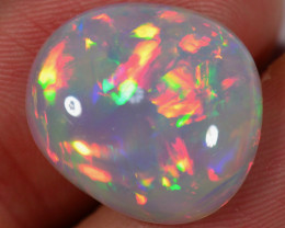 8.9 CT RAINBOWS! WELO OPAL CABACHON