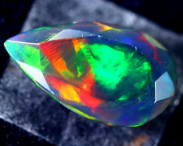 1.60cts Welo Natural Faceted Smoked Opal / HM66