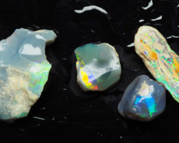 Small group of colorful Nobby rubs, 17.90 ct