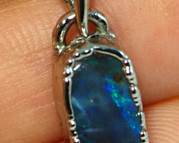 10.50CT OPAL PENDANT WITH SILVER COPPER ELECTRO FORM BJ30