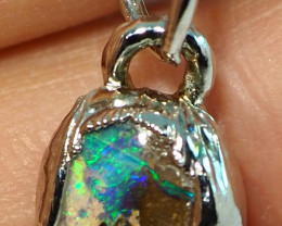 9.55CT OPAL PENDANT WITH SILVER COPPER ELECTRO FORM BJ31