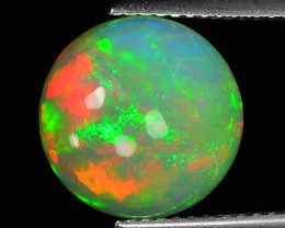 3.64 Cts Very Rare Natural Ethiopian Opal Loose Gemstone