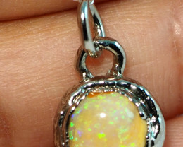 8.50CT OPAL PENDANT WITH SILVER COPPER ELECTRO FORM BJ33