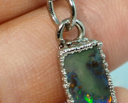 8.40CT OPAL PENDANT WITH SILVER COPPER ELECTRO FORM BJ42