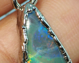 10.00CT OPAL PENDANT WITH SILVER COPPER ELECTRO FORM BJ57