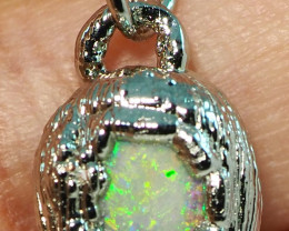 12.50CT OPAL PENDANT WITH SILVER COPPER ELECTRO FORM BJ60