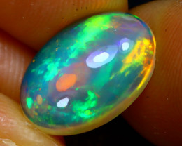 Welo Opal 2.77Ct Natural Ethiopian Play of Color Opal JN100/A44