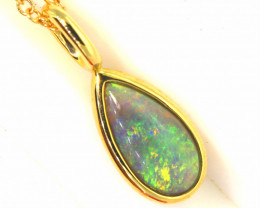 12.09 CTS BLACK OPAL PENDANT   OF-25TM  LAZ