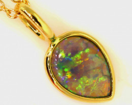 12.41 CTS CRYSTAL OPAL PENDANT   OF-24TM  LAZ