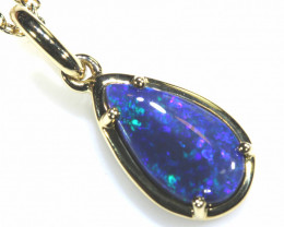 13.48 CTS BLACK OPAL PENDANT   OF-13TM  LAZ