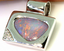 17.05 CTS BLACK OPAL PENDANT   OF-840  LAZ
