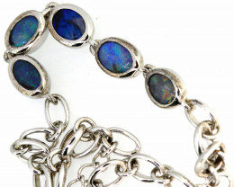 36.15 CTS BLACK OPAL BRACELET  OF-99F  LAZ