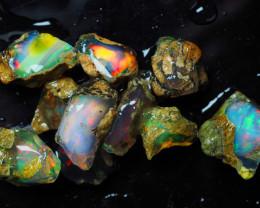 Ethiopian Welo Opal, Nice color rough, 47.95 ct