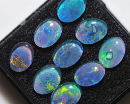 8.6 Cts  Australian Triplet  Opals 8X6 mm   BU 3002