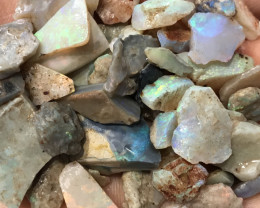 260 CTS ROUGH OPAL PARCEL -LIGHTNING RIDGE -