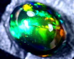 1.71cts Natural Ethiopian Smoked Black Opal / BF1689