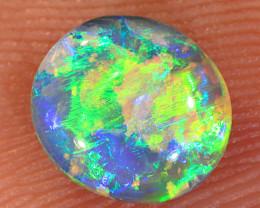 0.75ct 6.8x6mm Solid Lightning Ridge Crystal Opal [LO-2259]