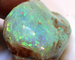 132CTS  AWESOME CHUNKY OPAL  RUB  L. RIDGE  DT-A-dreamtimeopals