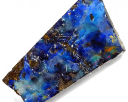38.2cts Boulder Opal Rough/Rub Pre-Shaped  S1260