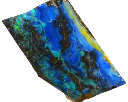 146cts Boulder Opal Rough/Rub Pre-Shaped  S1289