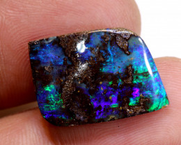12.20cts Natural Australian Boulder Opal Solid Stone DO-4