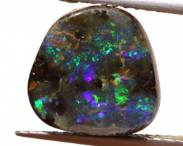6.75cts Natural Australian Boulder Opal Solid Stone DO-10