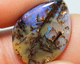 4.05CT WOOD REPLACEMENT BOULDER OPAL ST644