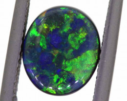 N1 - 1.87 CTS QUALITY BLACK OPAL POLISHED STONE  INV-1135  LAZ