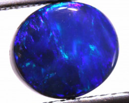 N 1- 1.77 CTS QUALITY BLACK OPAL POLISHED STONE  INV-1245  LAZ