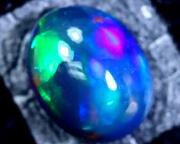 1.75cts Natural Ethiopian Smoked Black Opal / BF1737