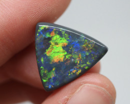 7.19CT Black Opal  Lightning Ridge  DM-B