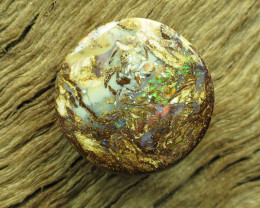 6.5cts, WOOD OPAL~FOSSIL STONE.