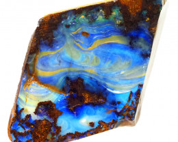 83.9cts Boulder Opal Rough/Rub Pre-Shaped  S1297