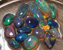 SUPER BRIGHT OPAL Rubs (semifinished) 34.61 Carats