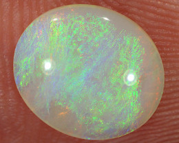 1.45ct 9.8x8.5mm Solid Lightning Ridge Crystal Opal [LO-2327]