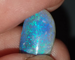 3.89 Ct Semi Black Opal from Lightning Ridge