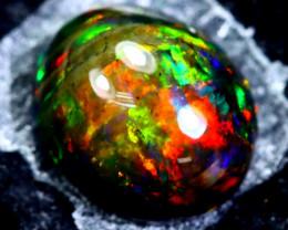 1.81cts Natural Ethiopian Smoked Black Opal / HM118