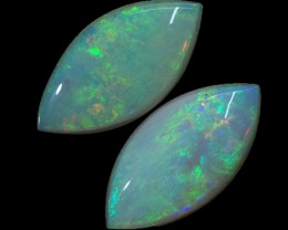 2.09CTS SET 2 STONES PARCEL COOBER PEDY -GREAT COLOR PLAY -S1369