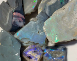 240CTs of Rough & Rub Opal - Colourful Offcuts