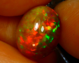 Welo Opal 2.86Ct Natural Ethiopian Play of Color Opal J2003/A44