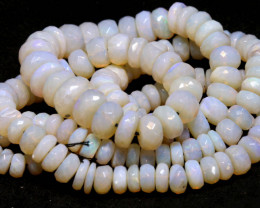 96CTS CRYSTAL OPAL BEADS FACETED  TBO-961