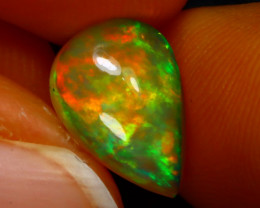 Welo Opal 1.66Ct Natural Ethiopian Play of Color Opal JN127